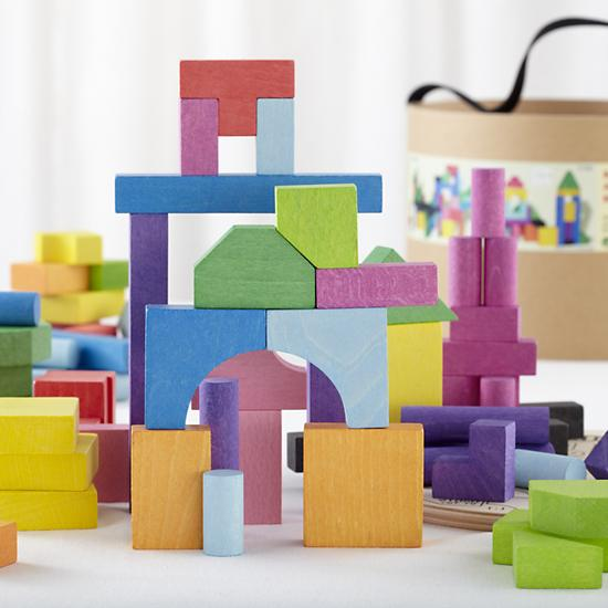 Toy Tuesday: Organic and Wooden Non-Toxic Blocks for Baby