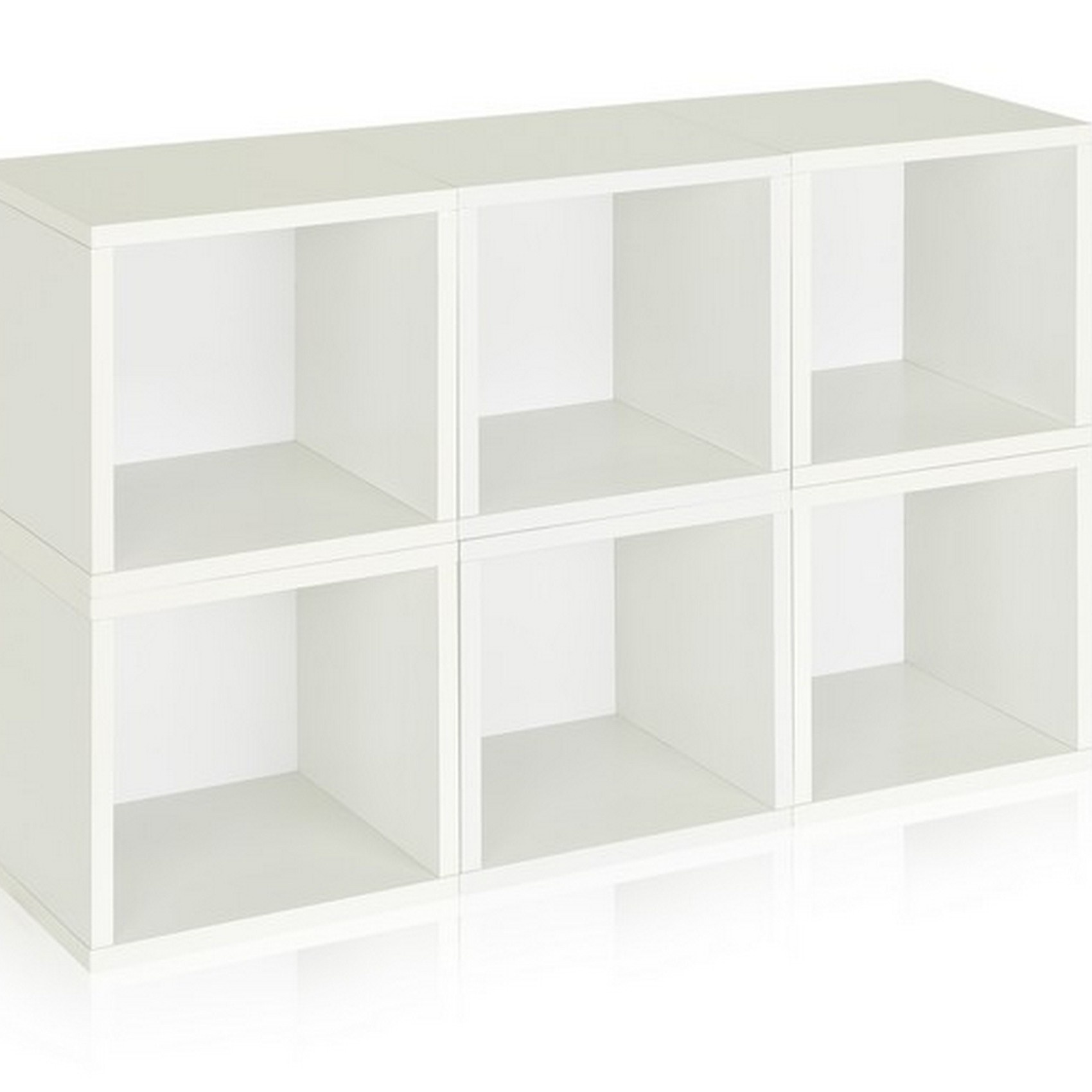white-stackable-storage-cube