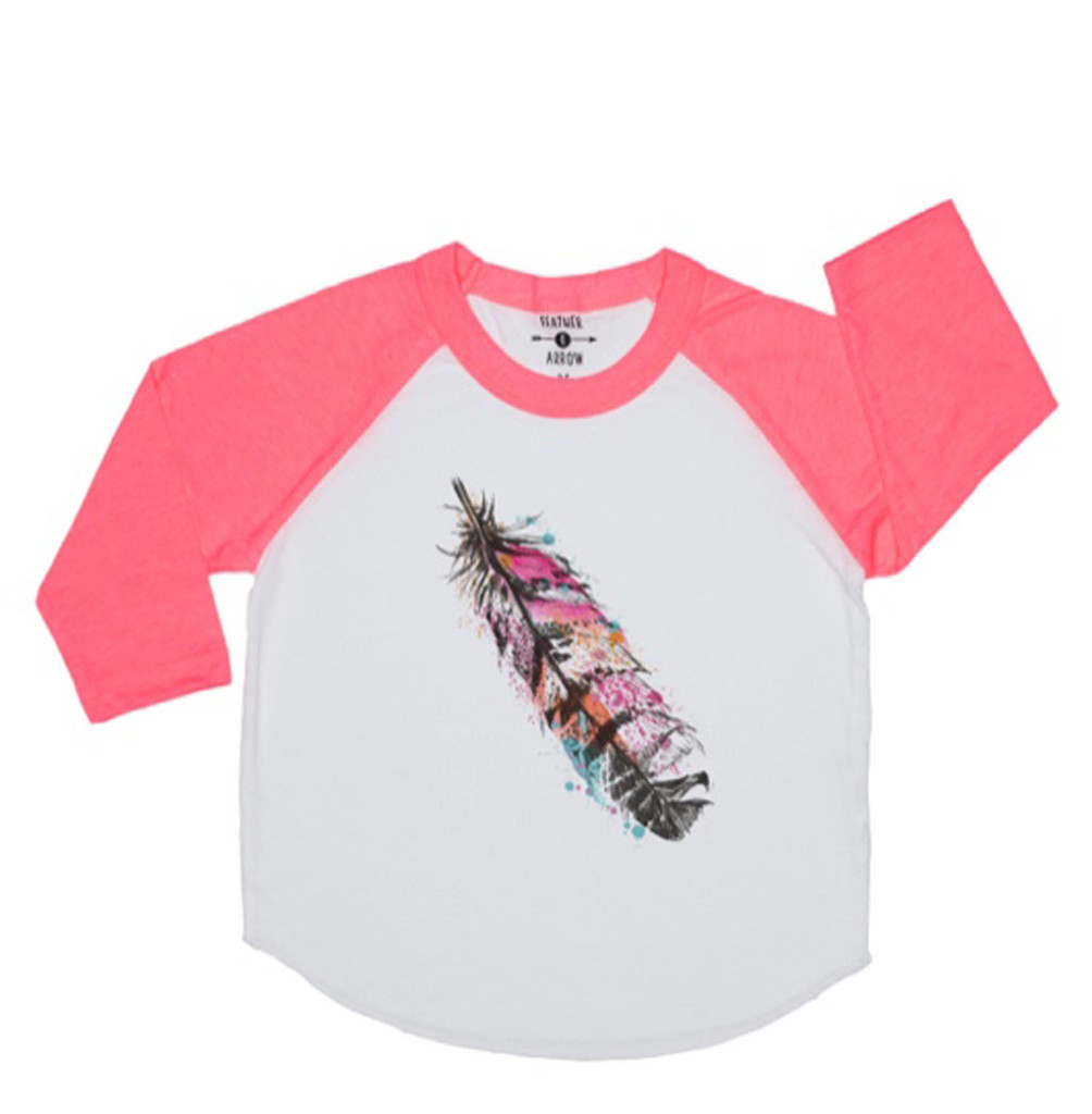 Feather_Baseball_Tee